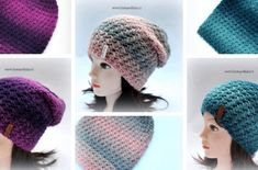 Homelešanka a nákrčník Dolphin ombre efekt – Krampolínka Dolphins, Tulip, Crochet Hats, Big, Fashion, Knitting Hats, Moda, Fashion Styles, Tulips