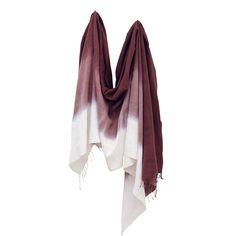 Cabernet Ombre Handwoven Scarf // Sseko Designs #SsekoWishList
