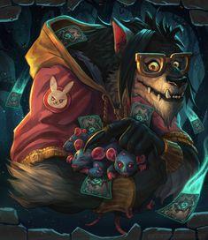 Warcraft Art, World Of Warcraft, Borderlands Art, Medieval, Creepy Monster, Werewolf Art, Kawaii Art, Furry Art, Mythical Creatures