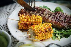 Meksykańskie steki z grilla #intermarche #konkurs #fontignac #steki #grill Grilling, Vegetables, Food, Meal, Crickets, Essen, Vegetable Recipes, Hoods, Meals