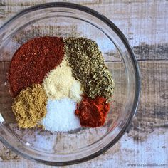 Taco Seasoning   Print  Prep time 1 min  Total time 1 min     Ingredients      1 Tbsp Chili Powder     2 tsp Cumin     1 tsp...