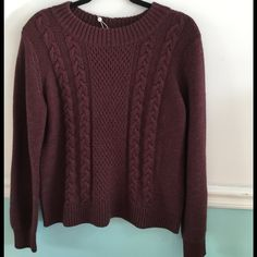 Joie Greer Sweater in Heather Shiraz Joie greer knit sweater in heather shiraz. Size Large. Brand new with tags. Joie Sweaters