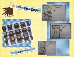 Kindergarten Crayons: Caution: Bald Eagles Are Everywhere!