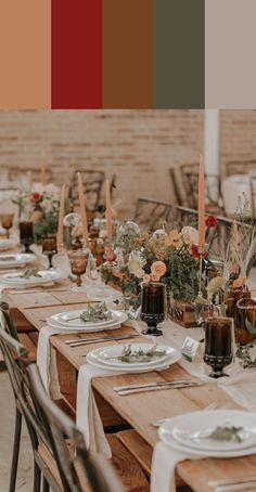 Different uncovered wedding reception ideas Watch for - Boho Wedding Wedding Reception Ideas, Wedding Decor, Reception Table Decorations, Wedding Table Settings, Wedding Centerpieces, Fall Wedding, Wedding Colors, Wedding Planning, Boho Wedding