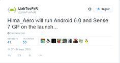 nice Nuevo rumor dice que el HTC One A9 (Aero) se ejecutará con Android 6.0 de inicio