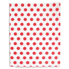 Go dotty! Spruce up a shopping bag, add pizzazz to gift boxes, or use as gift wrap. This attractive printed tissue completes any packaging look. #tissue #dots #strawberries