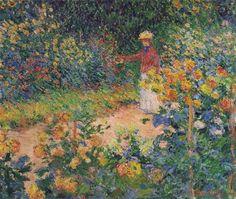 In the Garden - Claude Monet
