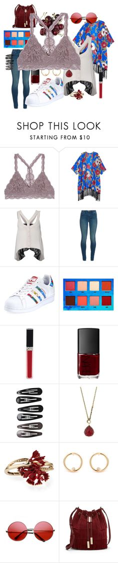 """""""The Prettiest Underpinnings #4"""" by pantherinae ❤ liked on Polyvore featuring Melissa McCarthy Seven7, Rare London, J Brand, adidas, Lime Crime, Christian Dior, NARS Cosmetics, Clips, 1928 and Oscar de la Renta"""