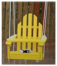 Kids swing to add to any tree or swingset