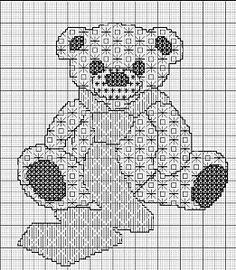 blackwork teddy bear - aupapotagedesdames.over-blog.com