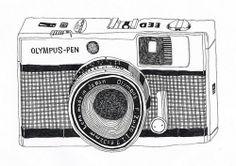 OLYMPUS PEN illustration