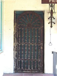 Priest's Residence-Private Entrance, Mission San Juan Bautista, CA