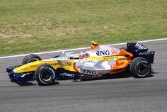 P7: Heikki Kovalainen (FIN) - Renault R27 - 30 Points #motorsport #racing #f1 #formel1 #formula1 #formulaone #motor #sport #passion