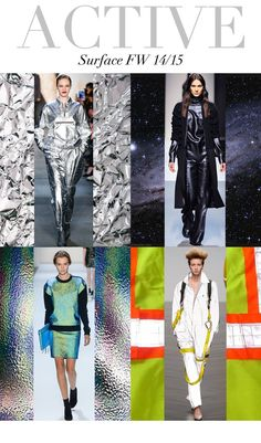 Trend Council:  Active Surface - FW14/15