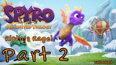 Spyro Reignited Trilogy Ripto's Rage - Part 3 Colossus Spyro The Dragon, Dragon 2, Educational Games For Kids, Hula Girl, Rage, Idol, Gaming, Summer, Anime