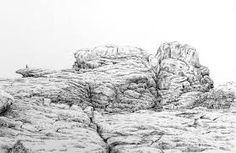 23 meilleures images du tableau art rocher falaise rochers art et aquarelle - Rocher dessin ...