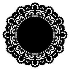 Doily Shape 1 by Marisa Lerin   Pixel Scrapper digital scrapbooking