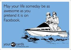 Now, should I post this on Facebook and see how many people un-friend me? LOL
