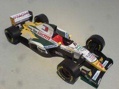 Lotus 107C 1994 GP Canada Zanardi Paper Model