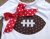 So cute for football season - Click image to find more Kids Pinterest pins
