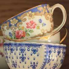 Prachtige kopjes om thee uit te drinken!