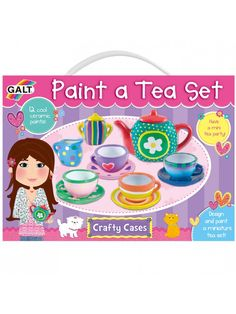 My Thoughts We went on a camping trip for Thanksgiving weekend and there is lots of down time to contend with. I thought this was the perfect opportunity to bring the Galt Paint a tea set for Paige. Paige is my artistic child and loves painting. She also happens to love tea sets and is...