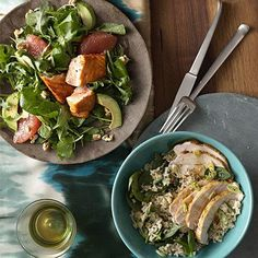 We've created a week's worth of great-tasting meals with real nutritional punch. Each one is under 500 calories, high in filling fiber, and low in saturated fat. Each recipe puts a premium on antioxidant-rich produce—with two veggies, plus herbs and spices to boost flavor (but not calories). Try one of these supercharged dinners tonight for a leaner, healthier you. | Health.com