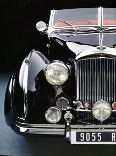 "frenchcurious: ""Bentley Mk VI 1947 (carrossée par Franay) - Automobiles Classiques N° 76 septembre 1996. """