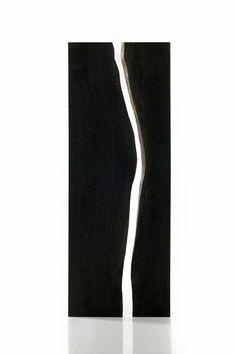 Two Bog Oak pieces.....sculptural beauty