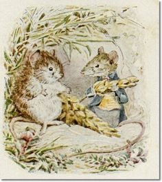 Beatrix Potter - The Tale of Johnny Town-Mouse - 1918