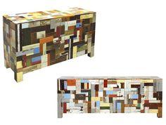 modern craft: Piet Hein Eek: Scrapwood Collection