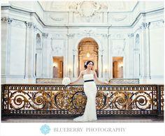 San Francisco City Hall Wedding photography. Such a beautiful venue!