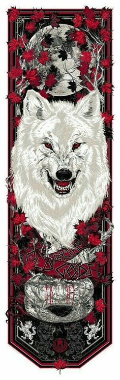 Game of Thrones By The Old Gods Weirwood Banner by Rhys Cooper Dessin Game Of Thrones, Arte Game Of Thrones, Game Of Thrones Ghost, Game Of Throne Poster, Rhys Cooper, Natur Tattoo Arm, Wolf Hybrid, Game Of Trones, King In The North