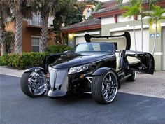 2000 PLYMOUTH PROWLER CUSTOM CONVERTIBLE