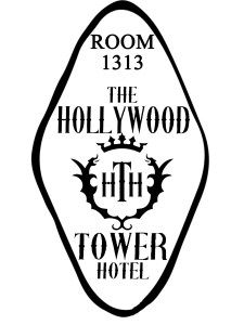 cd089cb494e Hollywood Tower Hotel Disney World Decal Car Tower of Terror Sticker Room  Key