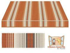 Tende da sole Tempotest Fantasia Marrone 968/54