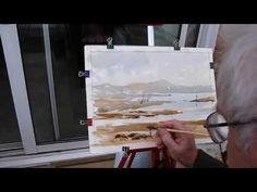 WATERCOLOUR LOOSE BRUSHWORK - YouTube                                                                                                                                                                                 More