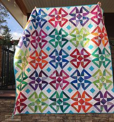 Twisted Blossom Quilt