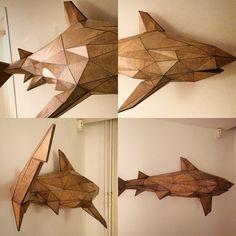 Sharky sculpture... Sold at the Artworks event hosted by @glassworksvfx! #sober…