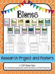 a research on water biomes Download the biome facts & worksheets the marine and freshwater biomes are extremely important because water is the basis of all life.