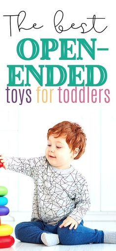 Implementing loose parts play and adding open-ended toys has changed the way Lennox plays. He plays for hours at a time, and he even looks forwards to his nap time to have the ability to be creative and imaginative all by himself.