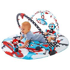 Yookidoo Baby Gym and Play Mat with Accessories for Infants -- Check out the image by visiting the link.