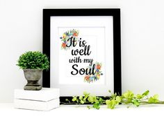 It is well with my Soul  Inspirational Hymn by AnayaMichelleDecor