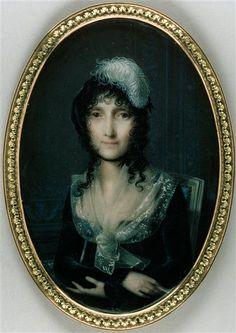 Jean-Baptiste Isabey - Laetizia Ramolino Bonaparte