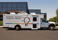 Carroll County (Md.) Public Library bookmobile. A Farber specialty vehicle.
