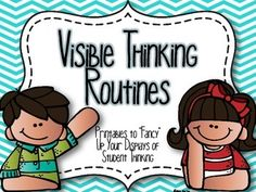 Do you use Thinking Routines in your classroom?  Are you learning more about Cultures of Thinking and are ready to begin using some of the routines?  No matter if you are new at making thinking visible in your classroom, or if you are a pro...this pack is for you!