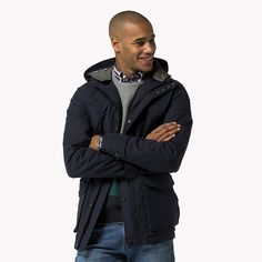 Tommy Hilfiger Hooded Jacket - midnight (Blue) - Tommy Hilfiger Jackets - main image