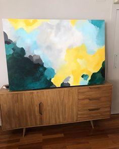 Gone 100x150cm . . . #abstractart  #arte #arteabstracto #abstracto #abstract #art #decoracion #decor #interiorismo #deco #interiordesign #interior  #painting #commision #colorfull #elenacalonje #cuadrosporencargo  #artcollector #twitter