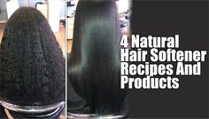 Did you straighten your hair this winter? Here are 4 recipes you can use for longer lasting straight hair