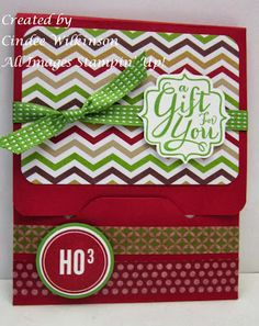 Just Sponge It: Stampin' Up! Envelope Punch Board Class A Gift for You, A Banner Christmas stamp sets